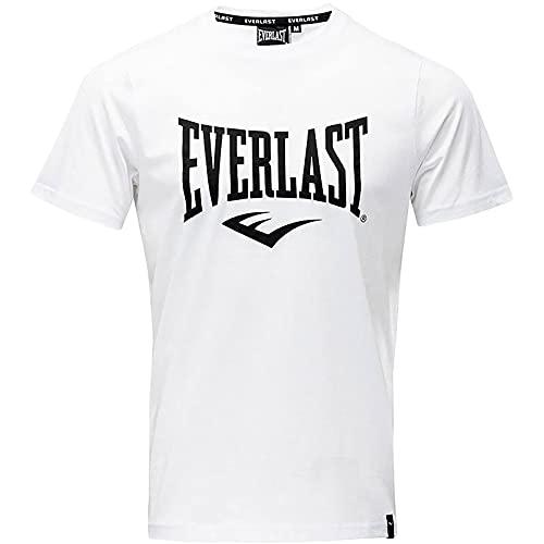 Everlast Herren Sports T-Shirt, Weiß, XL