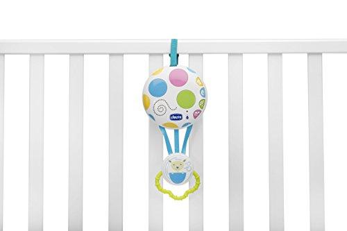 Chicco Balloon - Hamaca de 0 a 18 kg, con luces y sonidos