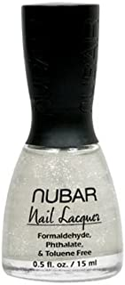 NUBAR NAIL LACQUER FM124 SHIMMERING TULLE
