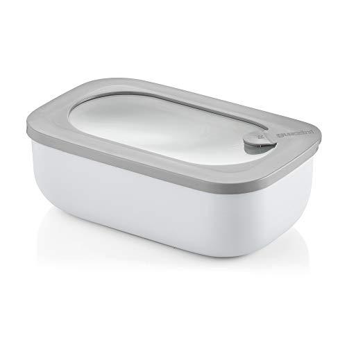 Guzzini - Recipiente hermético Rectangular para frigorífico/congelador/Horno de microondas