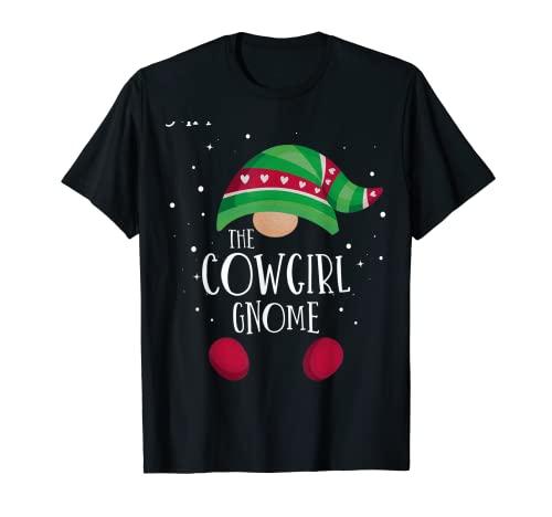 Pijama de Navidad a juego con el gnomo vaquero Pijama famili Camiseta