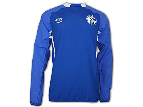 Umbro FC Schalke 04 Drill Top Sweatshirt FHPB Blau S