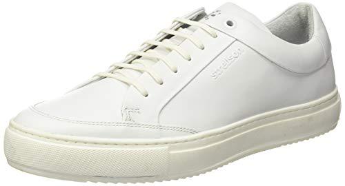 Strellson Herren Evans Sneaker, Weiß (White 100), 43 EU