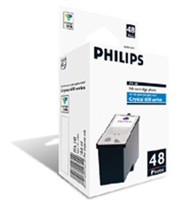 Philips 906115314401 - Cartucho Inyeccion Tinta Color Foto Pfa 548 300 Páginas Serie Crystal/650/660 ✅