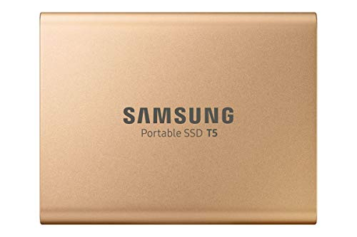 Samsung T5 1TB USB 3.1 Gen 2 (10Gbps, Type-C) External Solid State...