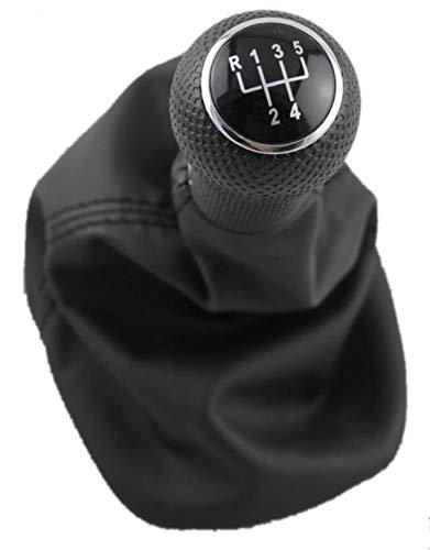 NO LOGO 1pc for Seat Leon 2000 2001 1999 2000 2001 Toledo-Car Styling 5 velocidades de 12 mm de Arranque Engranaje del Agujero de la Palanca del Cambio de palillo Perilla de Piel