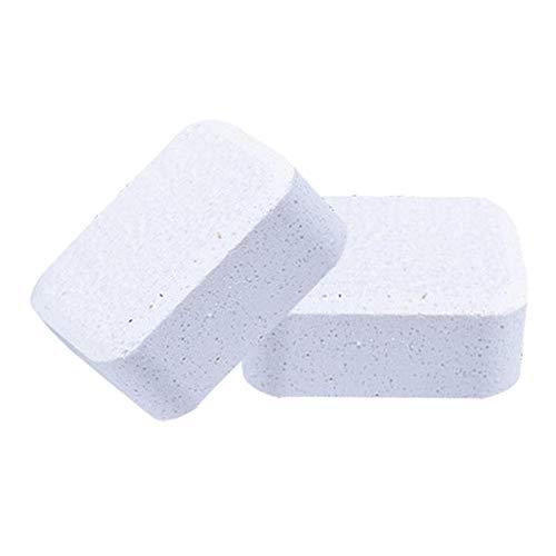 WOVELOT Paquete de 30 Tabletas de Limpiador para Inodoros AutomáTicos - Tanque de Inodoro para BaaO Tabletas Efervescentes Limpias Olor una LimóN de Larga DuracióN