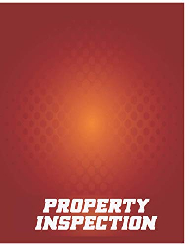 Property Inspection: Break Planned By This Appropriate Blood Delightful Journal Book!