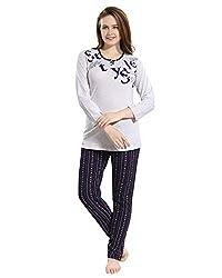 Kayimi Womens Premium Cotton Printed Night Suit