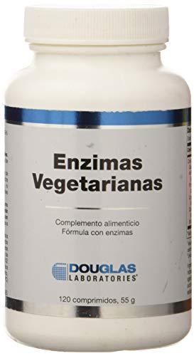 Douglas Laboratories Enzimas vegetarianas Complemento Alimenticio, 55 gr, 120 comprimidos