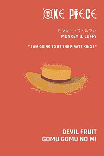 ONE PIECE: Notebook I Carnet de notes I Journal I Monkey D. Luffy I モンキー・D・ルフィ I Devil Fruit I Gomu Gomu no Mi I Fan I Manga
