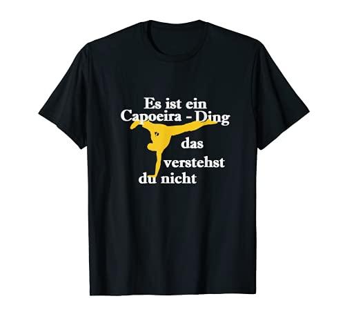 Es un capoeira Ding, Capoeira Fitness, regalo, deporte. Camiseta