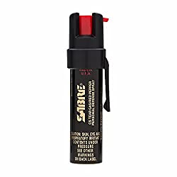 Image: SABRE 3-IN-1 Pepper Spray - Police Strength - Compact Size with Clip (Max Protection - 35 shots, up to 5x's more)