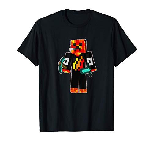 Game Playz Skin Keep Pixel Style For Gaming T-Shirt