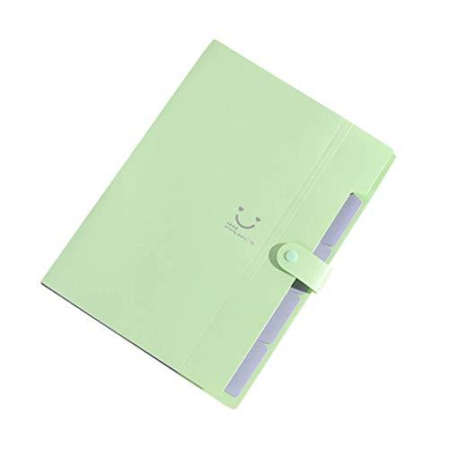 probeninmappx Dokument Dateiordner Kunststoff Erweiterung A4 Letter Size File Organizer Schnappverschluss Papier Organizer