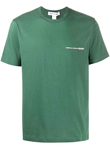 Comme des Garçons Shirt Luxury Fashion Herren S281213 Grün Baumwolle T-Shirt   Frühling Sommer 20