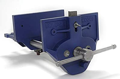 Eclipse Quick Release Woodworking Vise, Gray Cast Iron from Neill Tools