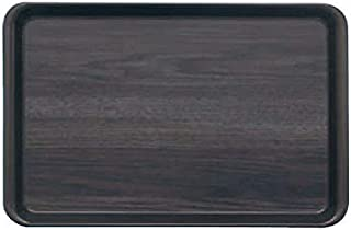 蝶プラ工業 トレイ 耐熱PPカフェトレイ ウッドグレイン 307×198×H17mm PP樹脂 ETL4801