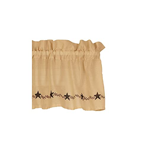 Country House Collection 32023 Farmhouse Vine Valance, 72-inch Length