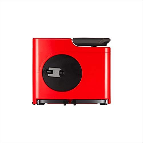 ZH Sport Fitnessgeräte, Smart-Fahrräder, Tragbare Kommerzielle Magnetische Heimtrainer, Home-Stil Einfache Mode Fahrräder, Einfache Und Leichte Abnehmen Fahrräder (Farbe : Red)