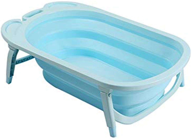 Kinderbadewanne Faltbare Babywanne Umweltschutz PP + TPR Material Kunststoff Badewanne