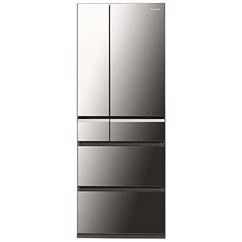 パナソニック 501L 6ドア冷蔵庫(オニキスミラー)Panasonic ナノイー エコナビ NR-F511XPV-X