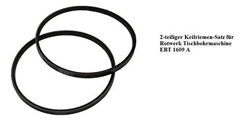 2-teiliger Keilriemen-Satz für Rotwerk Tischbohrmaschine EBT 1609 A