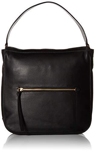 Cole Haan Jade Leather Bucket HOBO Bag, Black