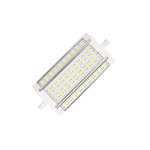 R7S LED 135mm 40WJ Typ Lampe superhelle LED J135 R7S lineare LED Röhre Strahler 180 Grad Abstrahlwinkel 90-265V 500W Halogenlampe Ersatz (Cold white)