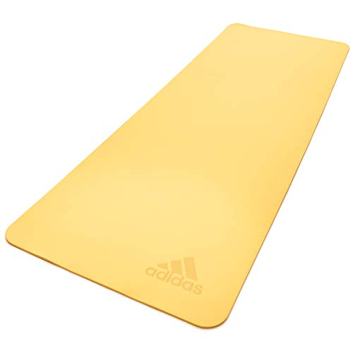 adidas Esterilla de Yoga Premium-5mm-Tinte, Unisex-Adult, Tinte Amarillo