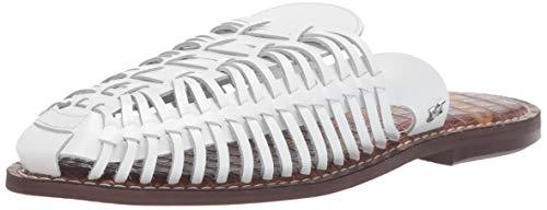 Sam Edelman Keelyn Mule, Bright White Leather, 5.5 M US