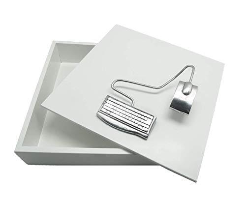 Caixa Decorativa, Engenharia da Computação, Branco, Sarquis Samara