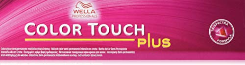 Wella Colour Touch Plus Haarfarbe für graue Haare 77/07, 1er Pack (1 x 60 ml)