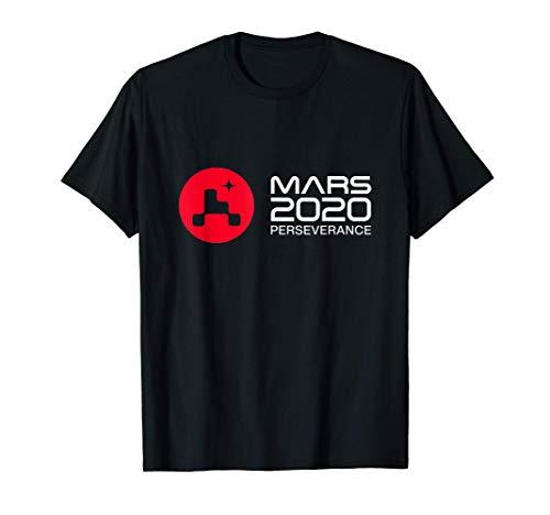 Mars Rover Perseverance 2021 Logo New NASA Mars Rover Camiseta