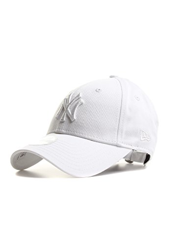 New Era Wmn Essential 940 9Forty- Gorra para Mujer, Diseñ York Yankees, Talla única, Color Blanco