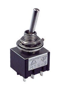 ElectroDH 11436ITP DH Interruptor Bipolar a Palanca. 6P