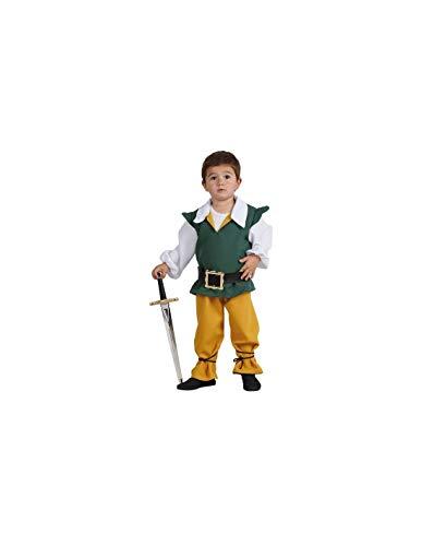 DISBACANAL Disfraz de Sancho Panza Infantil - -, 2 aos
