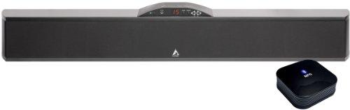 Atlantic Technology H-PAS PowerBar 235 Powered Home Theater Soundbar with BTAA-50 Bluetooth Adapter