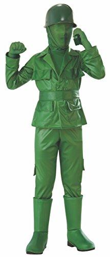 Rubie's Green Army Boy Costume, Large