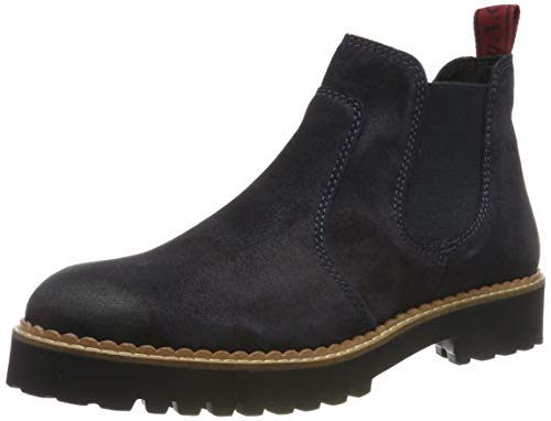 Marc O'Polo Damen 90714785005300 Chelsea Boots, Blau (Navy 890), 38 EU