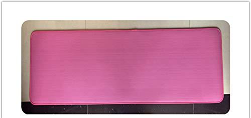 ZYXYBF 1pcs Nueva 10mm Espesado Antideslizante Yoga Mat Cojín 183cmX61cm NBR Fitness Gym Mats Deportes de Gimnasia Pilates Pads con el Yoga Bolsa (Color : Pink Color)