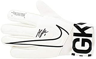 Alyssa Naeher Usa Women's Soccer Autographed Signed White Nike Goalkeeper Glove JSA