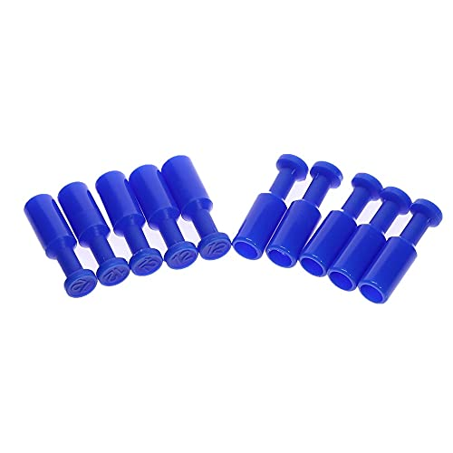 10x Nylon azul Nylon Tubo de la manguera de la manguera de la manguera del conector del ajuste del ajuste de la línea de aire 4/6/3/10 / 12mm (Color : 12mm)