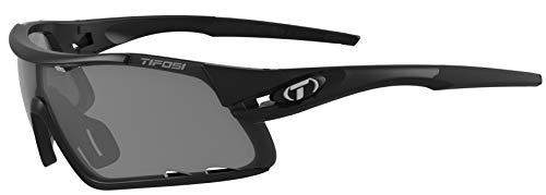 Tifosi Gafas de sol unisex Davos con lentes intercambiables,