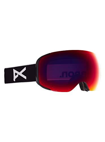 Anon M2 - Gafas para hombre con lente de repuesto, color negro y rojo