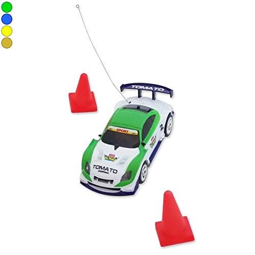 Eurowebb Mini voiture télécommandée rangement canette radiocmmandé RC bleu