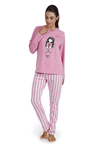 SANTORO Pijama Manga Larga Goodnight Gorjuss para Mujer
