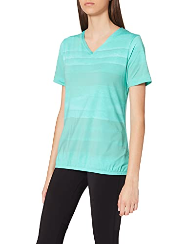 ENERGETICS T- Shirt Cass Femme - Vert (Mint Dark) - 40 (Taille Fabricant : 38)