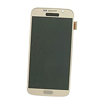 D DOLITY LCD Display Touch Screen Digitizer Assembly Replacement with Tools for Samsung Galaxy S6 G920 G920A G920i G920T G920F G9200 - Golden