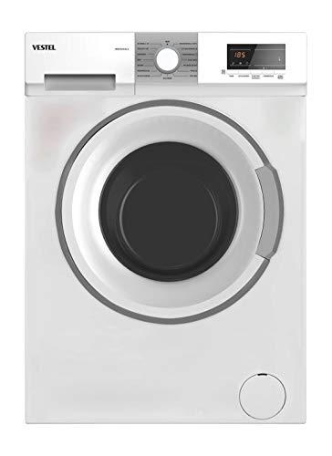 Vestel WVF4541C3 A+++ Waschmaschine Frontlader 8kg Weiss freistehend